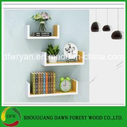 Mensola decorativa domestica della parete del pannello truciolare di uso generale della mobilia
