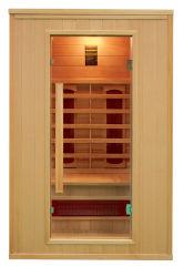 方法デザイン二人用の角の遠い赤外線サウナ部屋