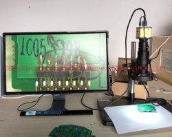 7X - 45x Microscope stéréo de grossissement du zoom pour l'industrie de la réparation de circuit imprimé