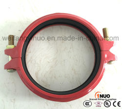 168.3mm/6.625인치 비듈러 주철 리지드 커플링 FM/UL/CE 승인