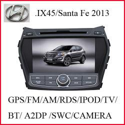 نظام الملاحة GPS لأقراص DVD للسيارة من أجل نظام Hyundai Santafe 2013/IX45 مع نظام التحكم الخلفي عرض الكاميرا (K-907)