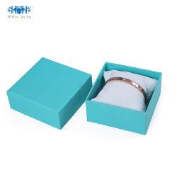 우단 또는 직물 서류상 귀걸이 또는 반지 또는 팔찌 보석 엄밀한 선물 상자