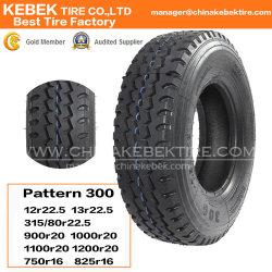 Nouveau pneu de camion de polarisation en nylon 1100-20