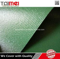 Tela incatramata a prova di fuoco impermeabile del PVC di garanzia di qualità