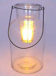 거는 포도 수확 차 빛에 의하여 착색되는 유리제 누추한 촛대