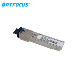 Modulo ottico doppio del ricetrasmettitore della fibra SFP+ dello SFP DWDM 1.25g 1310nm 20km del connettore di Sc/Upc