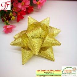 Gold-und Silber-metallisches Farbband für Bogen/Weihnachten/die Verpackung/Blume/Verpackung/Dekoration/Geschenke