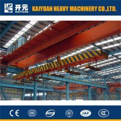 Подъем тяжестей 10 тонн накладных магнит кран на заводе