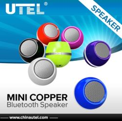 Heißes New Products für Handsfree 2014 Wireless Mini Copper Bluetooth Speaker