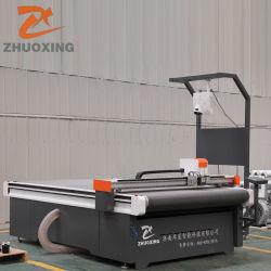 China bilden beste automatische CNC-Messer-Tuch-Gewebe-Textiltuch-Leder-Ausschnitt-Maschine für Kleid-Kleid-materielles Muster Markierungs-Scherblock-Plotter-Fabrik-Preis