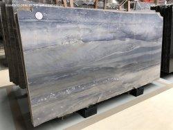 Haute qualité de dalles en pierres naturelles polies brésilien Azul bleu royal pour les murs de quartzite des tuiles de plancher Salle de bain Cuisine Counter Tops