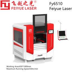 FY6510 جديد الطاقة Lithium صناعة السيارات قطع غيار Feiyue ليزر CNC قطع المعادن آلة نحاس تيتانيوم ألومنيوم الكربون من الفولاذ المقاوم للصدأ قاطع ليزر