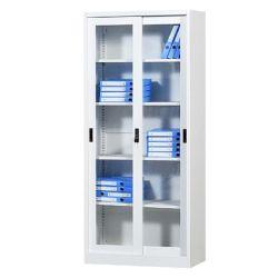 Estrutura de Kd corrediço de aço Porta de vidro para armário de arquivos