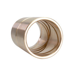 Casquillo de bronce de fundición de aleación de cobre el manguito Bush