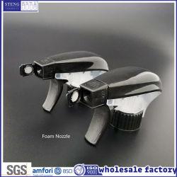 Fabricante Yuyao por grosso de alta qualidade 28/415 28/410 Espuma Plástica Limpeza Doméstica Preto Pulverizador de Detonação