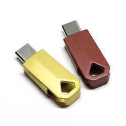 Unità flash USB OTG personalizzata OEM disco USB 16 GB 32 GB metallo per iPad e iPhone, smartphone Android Tablet PC