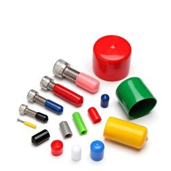 أغطية أطراف PVC 50 مم أغطية أطراف براغي بلاستيكية PE