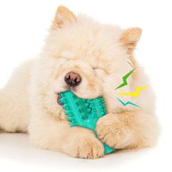 فرشاة أسنان شكل الصبار تصفير قوية مصد عمودي كأس الشفط كأس الشفط لعبة الكلاب الحيوانات الأليفة