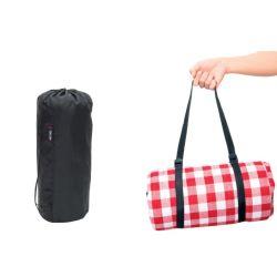 Verdickte rote und weiße Gitter Outdoor Camping Tragbare wasserdichte Picknick Mat