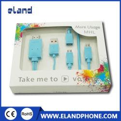 Adaptador de cable MHL Micro USB a HDMI HDTV