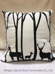 カスタムポリエステル綿のシルクスクリーンの印刷の枕クッション