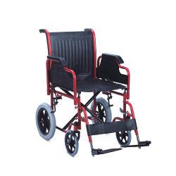 Topmedi 2020 Hot Sale repose-pieds réglable en acier de pliage du métal en fauteuil roulant manuel de l'adulte