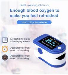 휴대용 펄스 모니터, 혈액 산소 포화 모니터, 혈액 포도당 검사자, 핑거 펄스 산소 농도체