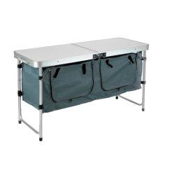 طاولة التنزه القابلة للطي إلى الطاولة الخارجية المحمولة خفيفة الوزن مع التخزين حقيبة