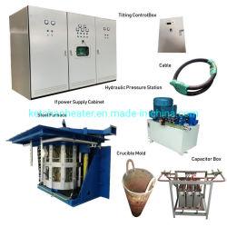 A indução de freqüência média de Aquecimento de metal fundido Fusão Forja de forno de tratamento térmico fundição electrónicos