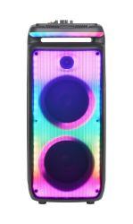 مكبر صوت احترافي ترولي صوت لاسلكي محمول مع تشغيل صوت Bluetooth PA سماعة بطارية لموسيقى DJ للحفلات الخارجية الرقص GZ-X898
