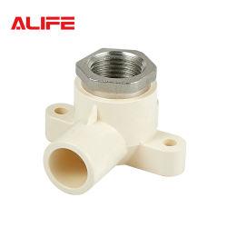 Alife 1/2 en CPVC ASTM D2846 de plástico Tubo de suministro de agua/tubo acodado oreja caída conjunta de transición