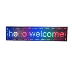 غلاف ألومنيوم مع مصباح LED بغطاء أكريليك قابل لإعادة الشحن إعلان مفتوح التوقيع