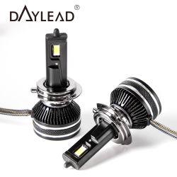 Lâmpada LED de certificação RoHS CE H4 H7 H11 Farol LED automático