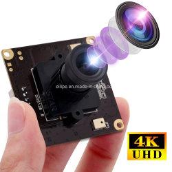 Pel UHD 3840x2160p 30 fps USB2.0 Module de caméra audio double 4K IMX317 Mini caméra vidéo de sécurité CCTV avec 12mm lens