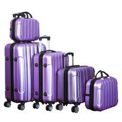 طباعة الشعار مجموعات الأمتعة مجموعات حقيبة سفر من الهيكل الصلب ABS مجموعة أمتعة الحامل المتحرك