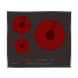 H-One 60cm Vitro Placa vitrocerâmica Vietname panela elétrica de infravermelhos com água Aviso Over-Flow