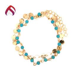 Qualidade da alta moda 925 Bracelete Sterling Silver Jóias Turquesa
