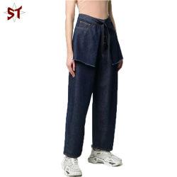 2020 nueva moda pantalones vaqueros algodón