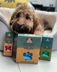 犬およびペットのための biodegradable 犬のポープ袋、堆肥化されたポップ袋、ペット廃棄物袋、分解性犬のポープ袋、ペット Poop 袋