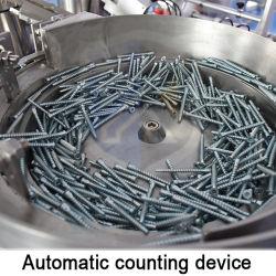 Neuer Zustands-automatische Befestigungsteil-Schrauben-Nagel-Schraube, die Beutel-Spielzeug-Ersatzteil-Quetschkissen-Verpackungsmaschine zählt