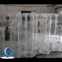 أنبوب زجاجي أنوبي أكريليك مجمد لأنبوب لحفلة اللحام Perspex PMMA plالحاجة الماسة أنبوب بولي كربونات للديكور مع مقاومة للأشعة فوق البنفسجية بالنسبة إلى خزانات المياه