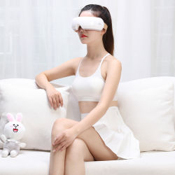 2020 het Populaire Draadloze het Verwarmen van de Trilling van de blauw-Tand Oog Massager van de Luxe