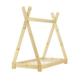 A madeira maciça Teepee cama para criança Quarto