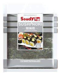 B Grade Sushi Nori grillées en pleine taille de 50 feuilles pour la cuisson