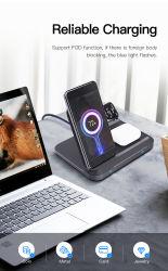 3-em-1 projeto permite que você carregue o telefone, Airpods, e a assistir ao mesmo tempo