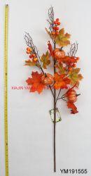 Ramos de flores de calabaza Halloween y la acción de gracias decoraciones son productos populares.