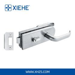 유리제 문을%s 조정 손잡이를 가진 Xh-8115 아연 합금 Frameless 유리제 자물쇠