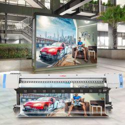 3.2mデジタルの屈曲の旗車のビニールのステッカーのフィルムポスターキャンバスのEco販売のための支払能力があるプリンター印字機