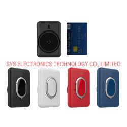 2021 Banco poder magnético Magsafe Powerbank 5000mAh cargador inalámbrico Wireless Mini portátil magnético 5W, Banco de energía inalámbrica con stents para iPhone 12 Mini