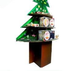 Professional hace parte de decoración decoración Vintage de papel cartón de color púrpura colorido árbol de Navidad